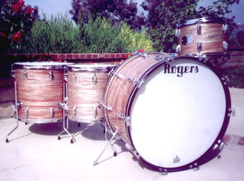 1960's Rogers set